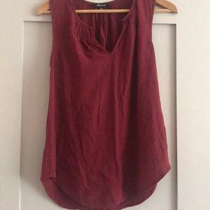 Madewell sleeveless blouse